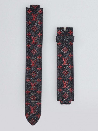 Louis Vuitton Monogram Infrarouge Canvas Tambour Watch Strap