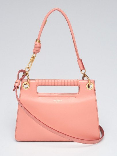 Givenchy Pale Coral Smooth Leather Small Whip Bag