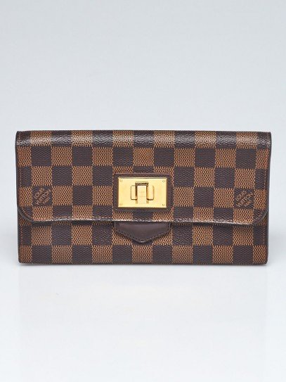 Louis Vuitton Damier Canvas Rosebery Wallet