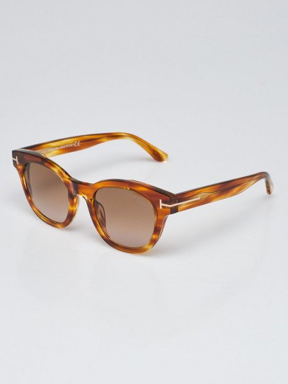 Tom Ford Tortoise Shell Acetate Frame Elizabeth Sunglasses TF616
