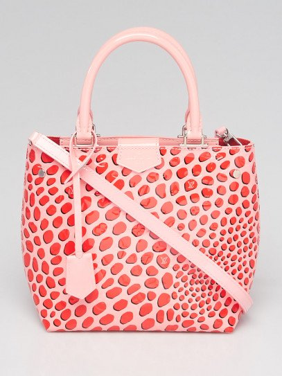 Louis Vuitton Limited Edition Sugar Poppy Monogram Vernis Jungle Open Tote Bag