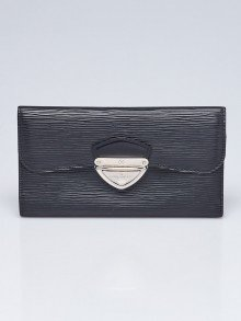 Louis Vuitton Black Epi Leather Eugenie Wallet